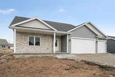 Appleton Single Family Home Active-No Offer: N9383 Varsity