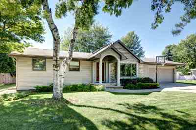 Neenah Single Family Home Active-Offer No Bump-Show: 1071 Melrose