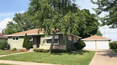 Neenah Single Family Home Active-Offer No Bump: 980 Zemlock