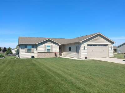 Combined Locks Single Family Home Active-Offer No Bump: 603 Debruin