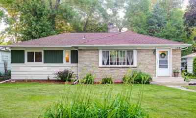 Neenah Single Family Home Active-Offer No Bump: 108 Courtney