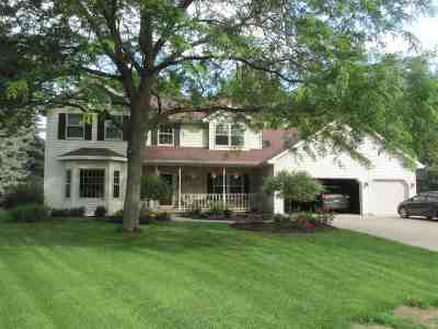 Neenah Single Family Home Active-Offer No Bump: 760 Saddlebrook