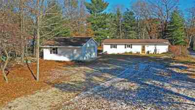 Waupaca Single Family Home Active-No Offer: N1110 Hwy E
