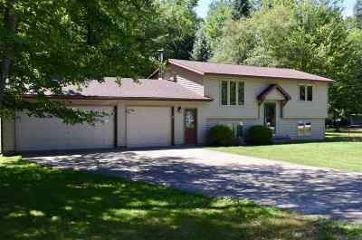 Shawano Single Family Home Active-No Offer: N5967 Mork