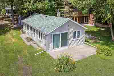 Shawano Single Family Home Active-No Offer: N5970 Lake