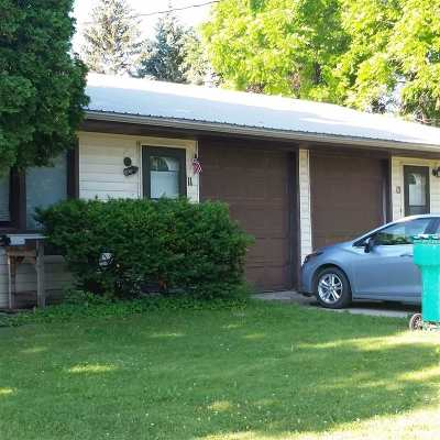 Appleton WI Multi Family Home Active-No Offer: $175,000