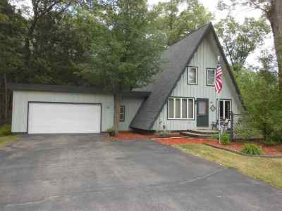 Shawano Single Family Home Active-No Offer: N6658 E Chicawatha