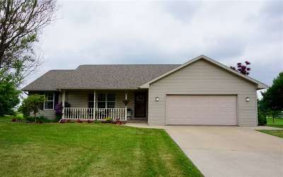 Appleton Single Family Home Active-No Offer: W5436 Amy
