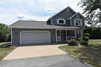 Neenah Single Family Home Active-Offer No Bump: 1019 Bridgeview