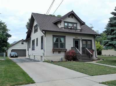 Menasha Single Family Home Active-No Offer: 616 Broad