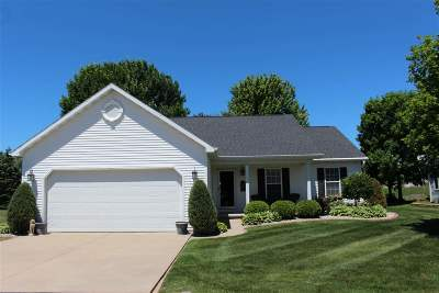 Grand Chute WI Single Family Home Active-Offer No Bump: $238,000