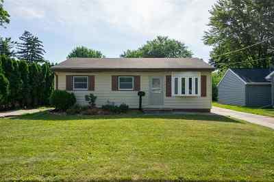 Oshkosh Single Family Home Active-No Offer: 1020 S Sawyer