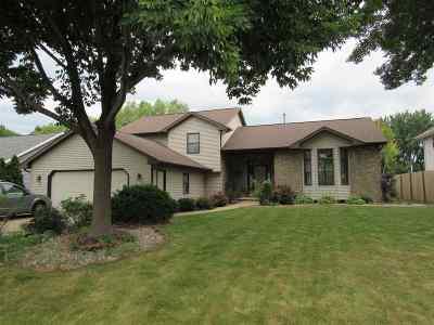 Appleton Single Family Home Active-No Offer: 1360 W Seneca