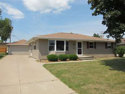 Appleton Single Family Home Active-No Offer: 314 W Weiland
