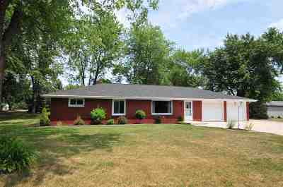Kaukauna Single Family Home Active-No Offer: W1764 Elk