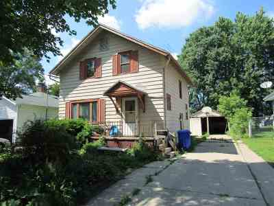 Appleton WI Single Family Home Active-No Offer: $79,900