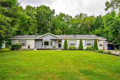 Winneconne Single Family Home Active-No Offer: 5991 Indian Shores