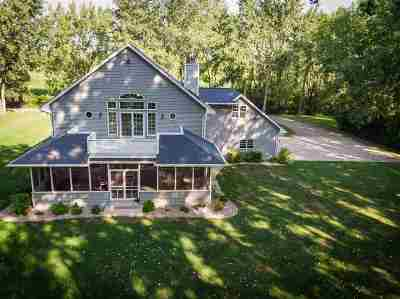 Oshkosh Single Family Home Active-No Offer: 1814 Indian Point