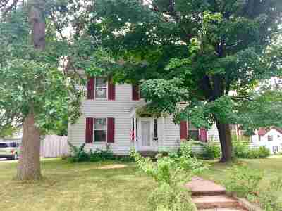 Shawano Single Family Home Active-No Offer: 318 W Eagle