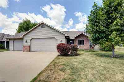 Neenah Single Family Home Active-No Offer: 1627 Redwing