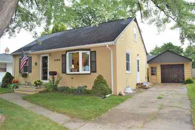 Green Bay Single Family Home Active-No Offer: 1024 N Platten