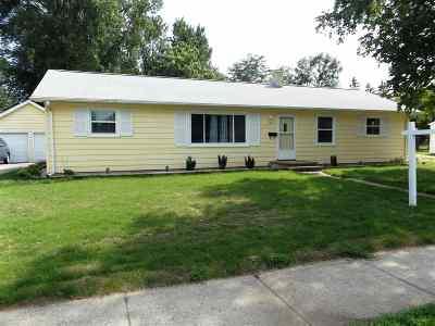 Appleton Single Family Home Active-No Offer: 1701 E Melrose