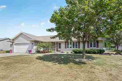 Appleton Single Family Home Active-No Offer: W3282 Creekview