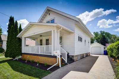 Appleton WI Single Family Home Active-No Offer: $119,900