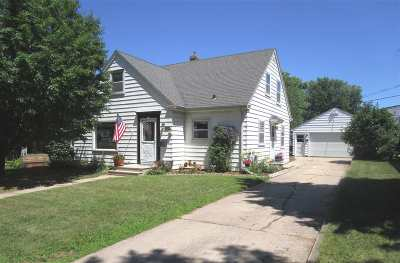 Appleton Single Family Home Active-No Offer: 1924 S Jackson