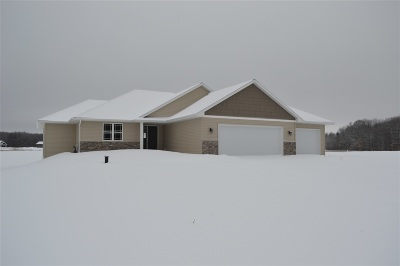 Sobieski Single Family Home Active-No Offer: 383 N Shady Lawn