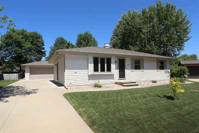 Menasha Single Family Home Active-No Offer: 1133 Lawndale