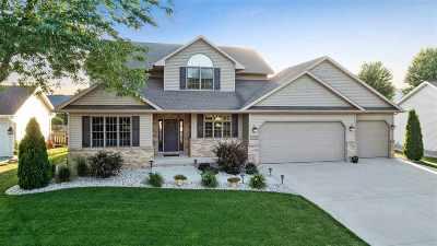 Appleton Single Family Home Active-No Offer: 1001 Crocus