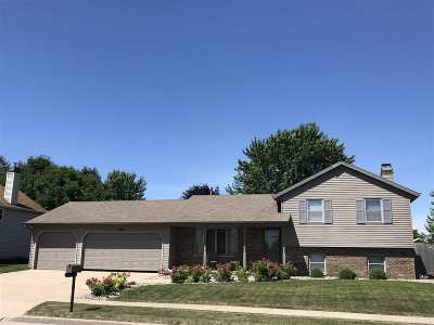 Little Chute Single Family Home Active-Offer No Bump: 1801 Maplewood