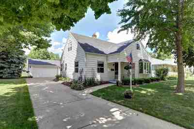 Appleton Single Family Home Active-No Offer: 1720 W Packard