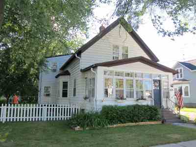 Neenah Single Family Home Active-No Offer: 609 Higgins