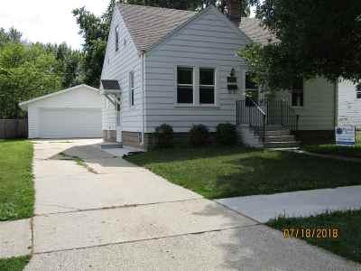 Green Bay Single Family Home Active-No Offer: 1344 Cass