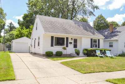 Green Bay Single Family Home Active-No Offer: 1281 Minahan