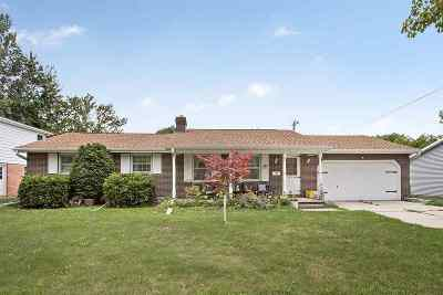 Green Bay Single Family Home Active-No Offer: 1771 Chateau