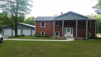 Oconto Falls Single Family Home Active-No Offer: 7224 Hwy 22