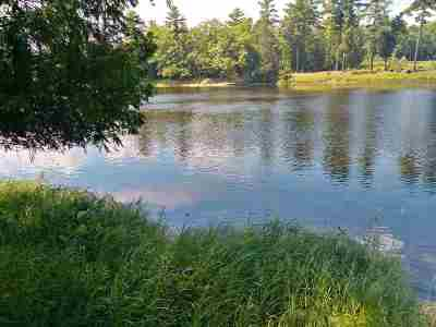 Marinette County Residential Lots & Land Active-No Offer: Menominee Shores