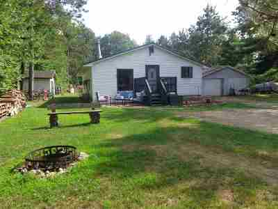 Shawano Single Family Home Active-No Offer: W5207 Pioneer