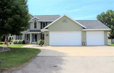 Menasha WI Single Family Home Active-No Offer: $295,900