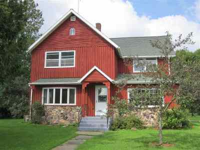 Shawano County Single Family Home Active-No Offer: N6263 Airport