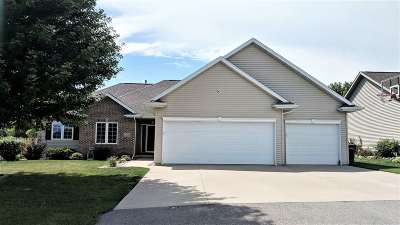 Menasha Single Family Home Active-No Offer: 1318 Fieldview