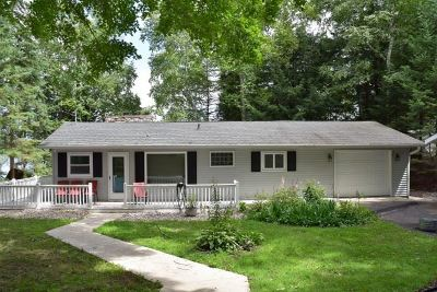 Oconto County Single Family Home Active-No Offer: 17694 W Wheeler Lake