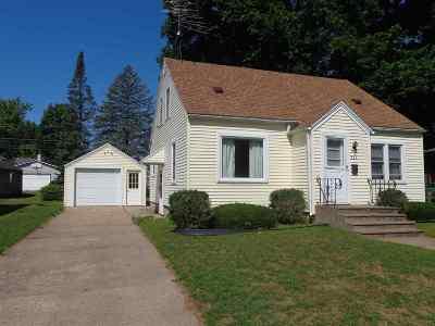 Shawano Single Family Home Active-No Offer: 911 S Washington