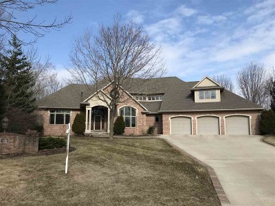 Green Bay Single Family Home Active-No Offer: 1456 Finch