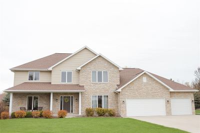 Menasha Single Family Home Active-No Offer: 2484 Whistling Swan