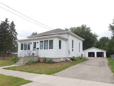 Oconto Single Family Home Active-Offer No Bump: 429 Madison