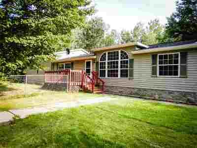 Peshtigo Single Family Home Active-No Offer: W3391 Sand Ridge